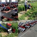 芒康县水稻小麦割捆机 西藏稻麦秸秆割捆机