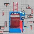 姜堰 卧式秸秆稻草打包机液压废纸打包机