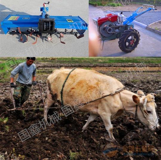黎平县手扶拖拉机带动 农用手扶打田机
