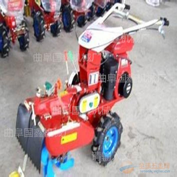 手扶柴油汽油拜泉县小型188风冷柴油微耕机