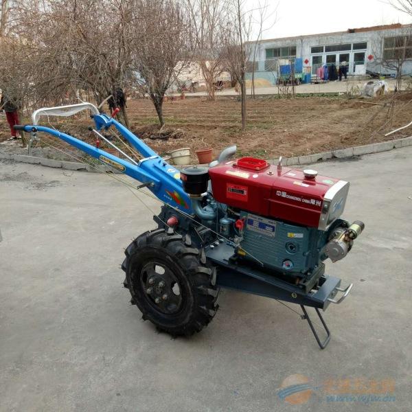 都匀柴油动力手扶拖拉机 15马力手扶旋耕机