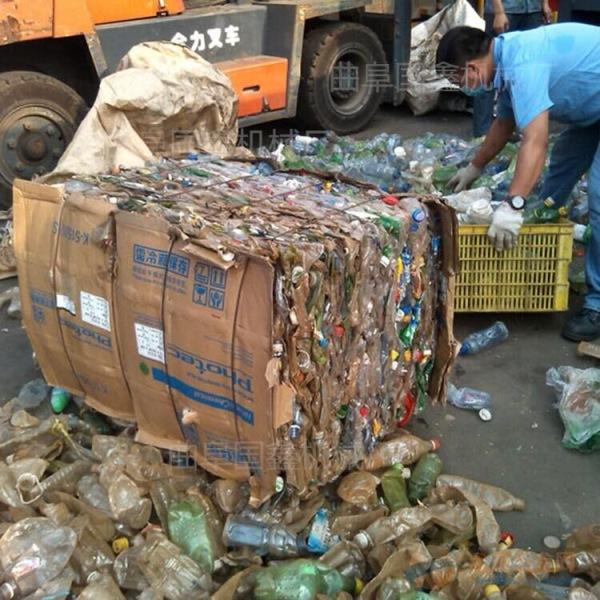 批发废铁桶打包机 道县山西废料金属塑料瓶子打包机