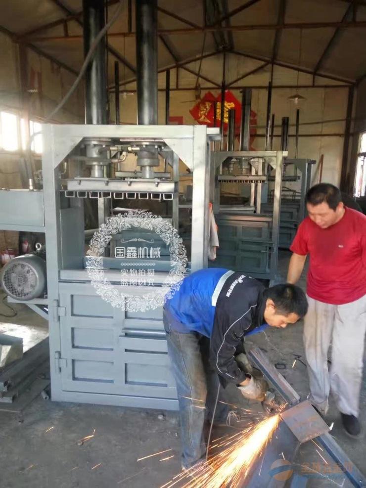 龙游县塑料瓶易拉罐打包机秸秆牧草青贮打包机