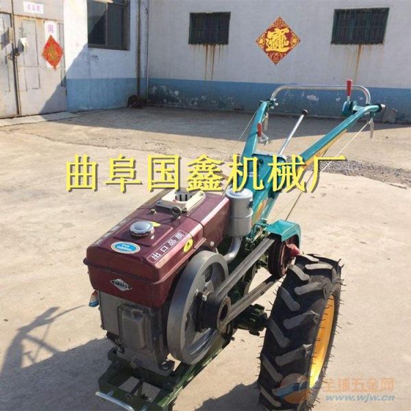 柴油手扶拖拉机旋耕机花生收获机有序铺放合肥