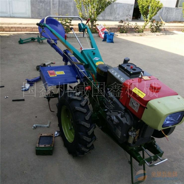 农用收割机 文登多功能手扶旋耕机