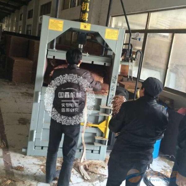 液压 双缸废铁金属打包机 宁远县塑料瓶打包机