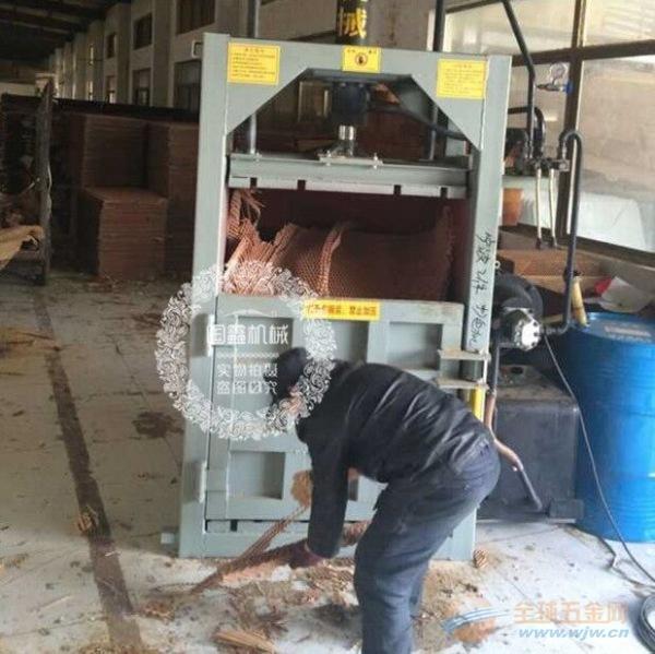 邵武40吨废旧金属液压压块机 不锈钢打包机