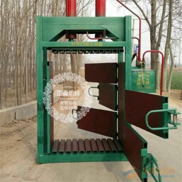 青川县废油漆桶压扁打包机 金属打包机价格