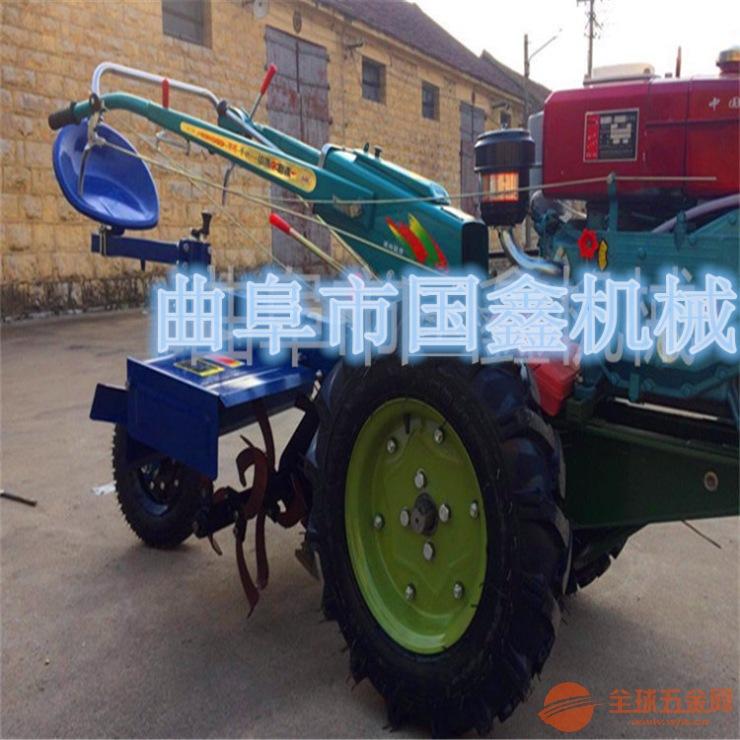 小型犁地耕地机 12马力手扶拖拉机 银川