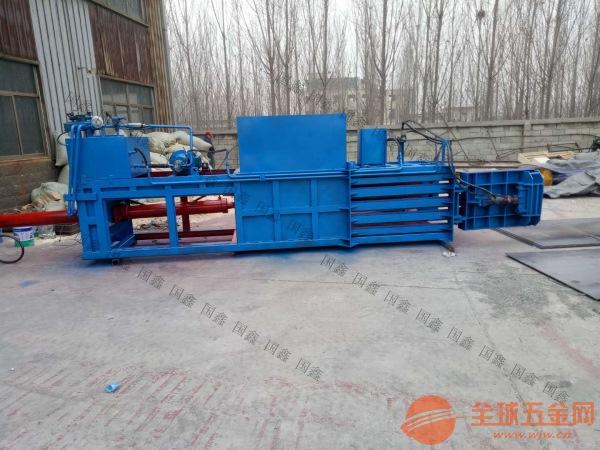 液压废品打包机厂家 鹤城区80吨压力废金属打包机