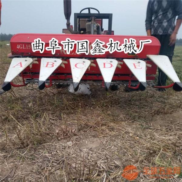 东辽县大豆割晒机 多功能小型秸秆收割机