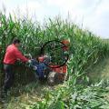 郊区水稻小麦割晒机 自走式汽油药材收割机