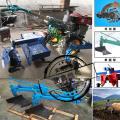 小型农用手扶打田机 灌南县15马力柴油机