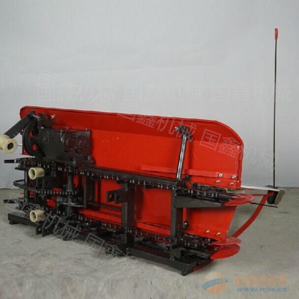 手扶式油菜艾草收割機 小型柴油手推式收獲機 赤峰