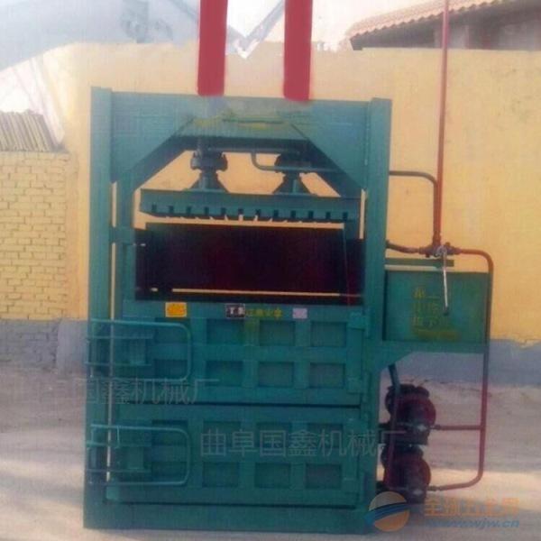 南木林县60吨金属废旧铁丝铁屑打包机80吨塑料瓶液压