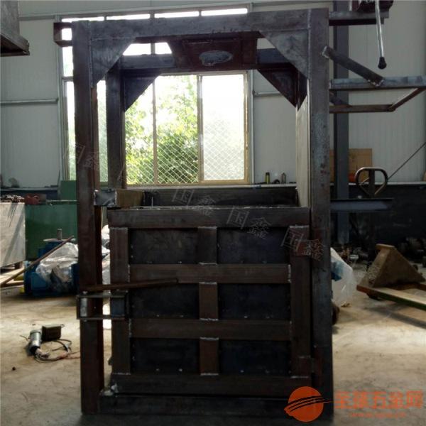 半自动液压打包机厂家 大型高效废纸打包机 蚌埠