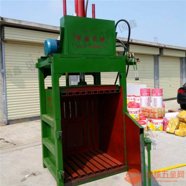 連云港 廢鋁廢鐵液壓打包機 飲料瓶易拉罐廢金屬打包機