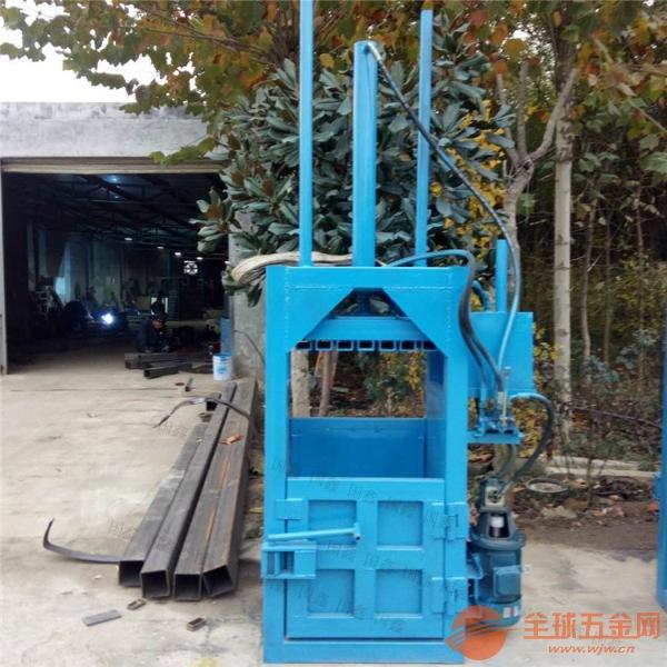 鹤岗30吨半自动布匹棉布打包机厂家单杠吨袋立式打包机