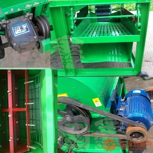 高效率干湿两用摘果机 天水多功能花生摘果机