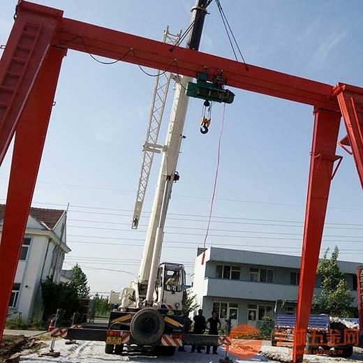 龙门吊7月山东潍坊诸城热销起重机械企业