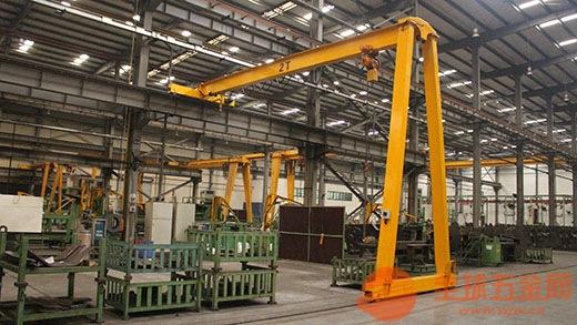 浙江衢州起重机行车电葫芦设备配件手动单梁起重机 非标