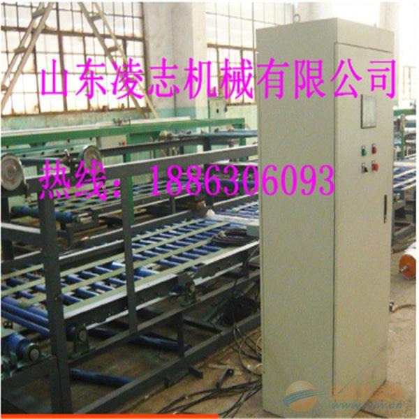 国家重点新产品防火保温板生产线