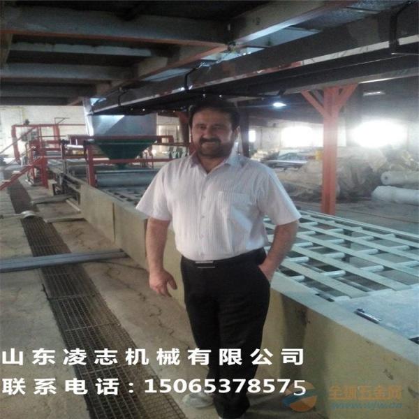 匀质板生产设备复合防火板材产线