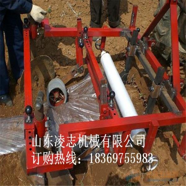 农用人力覆膜机 大蒜种植盖膜机