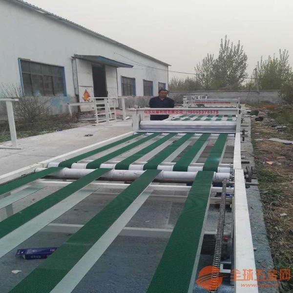 阳泉玻镁防火板生产设备厂家