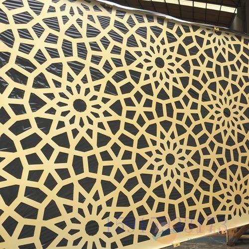 保山市雕花铝单板|雕花屏风