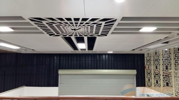 长治市雕花铝单板|雕花屏风