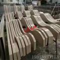 国标6063铝方通 装饰用木纹铝方管40*80mm铝合金方管 可切割