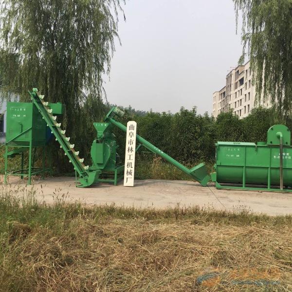 蛟河市家禽饲料颗粒机组视频