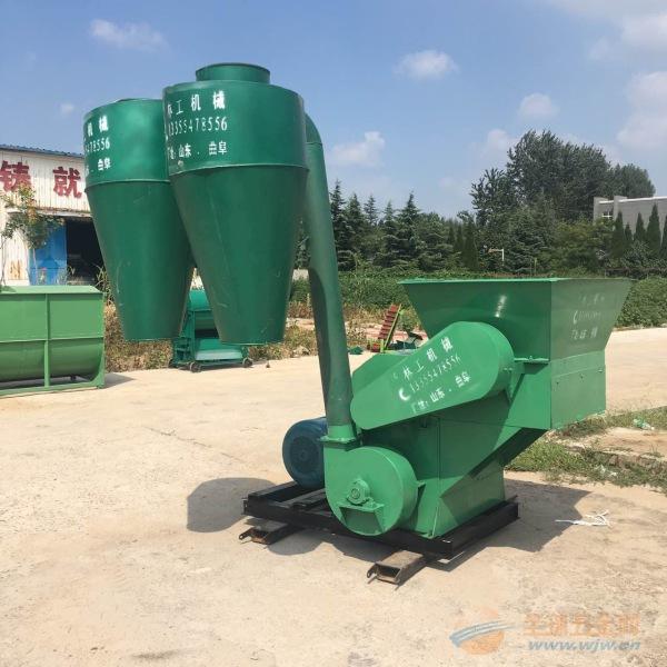 祁阳县自动进料牧草粉碎机工作原理