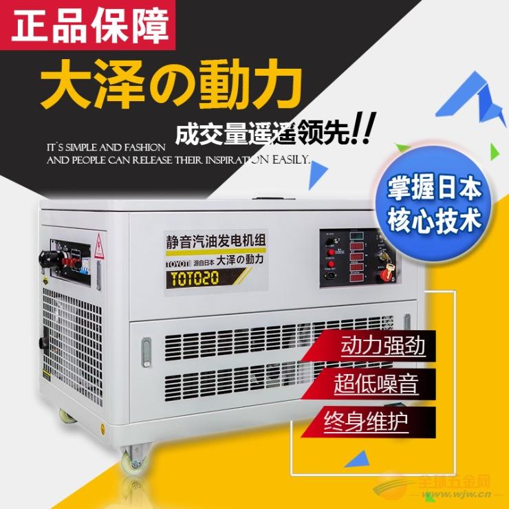 沼气发电机,20kw汽油发电机