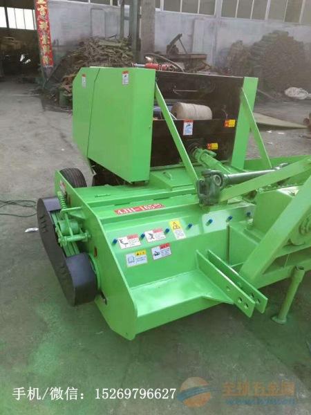 天津拖拉机带小麦秸秆打捆机厂