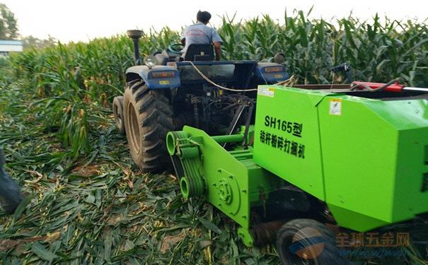 阳泉玉米秸秆破碎型打捆机价格