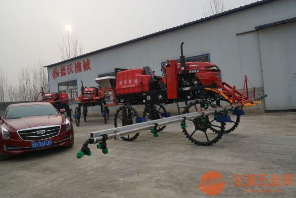 河南自走式喷药机生产厂家
