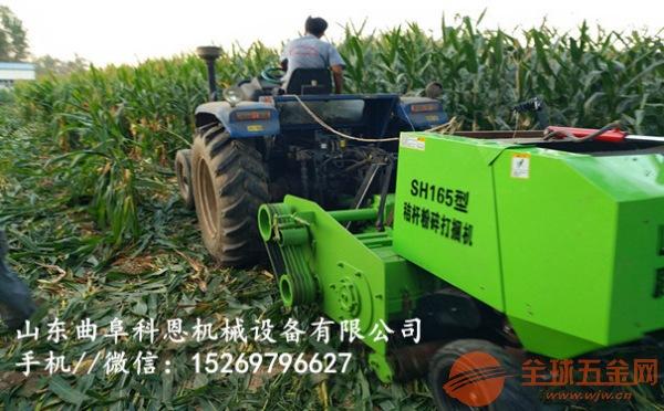 湖北襄樊小麦秸秆捡拾打捆机批发价格