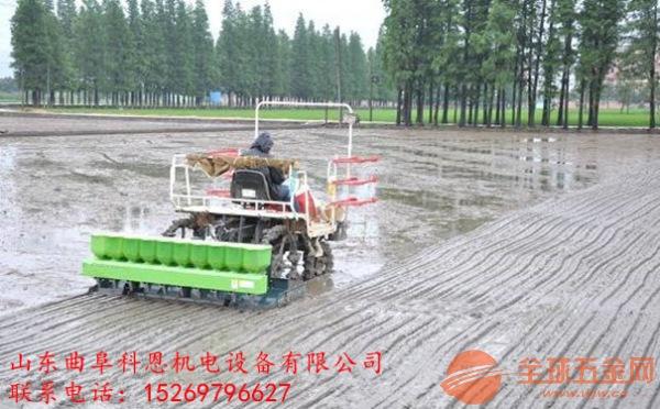 吉林白城德沃牌自走式水稻精量穴直播机出厂价