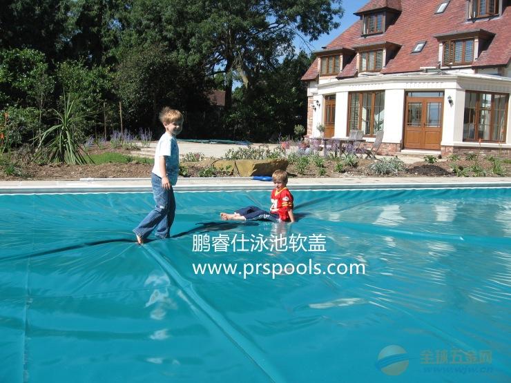 阿里 百度 鹏睿仕泳池电动安全盖推荐品牌 泳池安全盖厂家价格