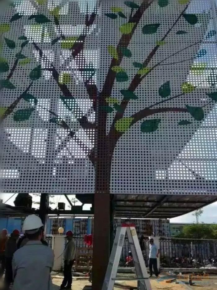 广京欧佰生产金属铝单板网