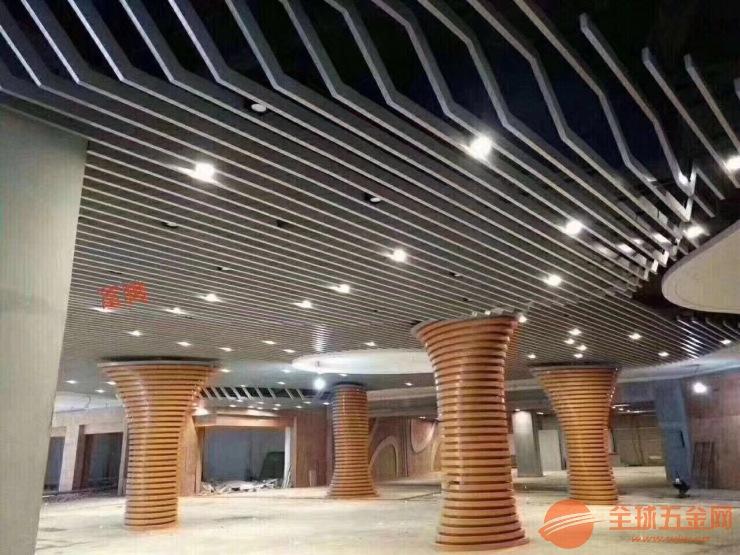 苏州吊顶铝方通厂家 定制广州富腾优质U型铝方通 美观大方 规格齐全