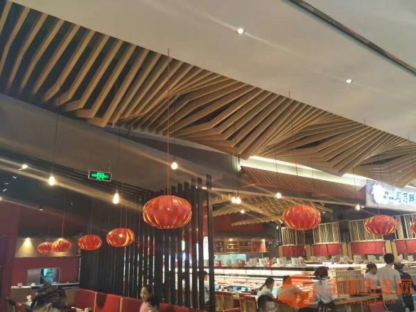 定制加工6063木紋裝飾鋁方通噴涂熱轉印鋁方通 廣州富騰鋁方通價格