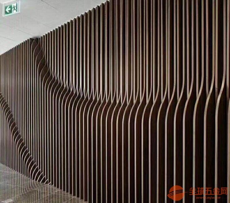 装修市场上的环保新选择 广州富腾木纹铝方通生产厂家