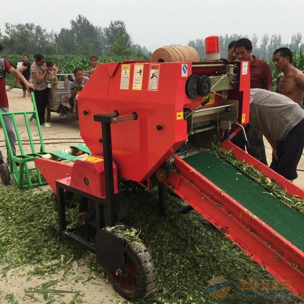 本溪玉米青储机 秸秆青储机捆草机 麦捆机厂家