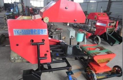 平凉林工机械厂小型秸秆打包机 秸秆打捆机 自走式麦草捡拾式草捆机