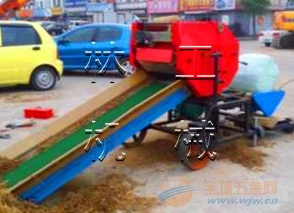 卖的最多的岳阳玉米秸秆青储机 玉米收割打捆机 自动捡拾式打捆机