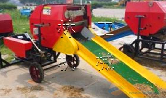 林工机械厂博野县青储机 稻草打捆机 自动捡拾打捆机 拾草机