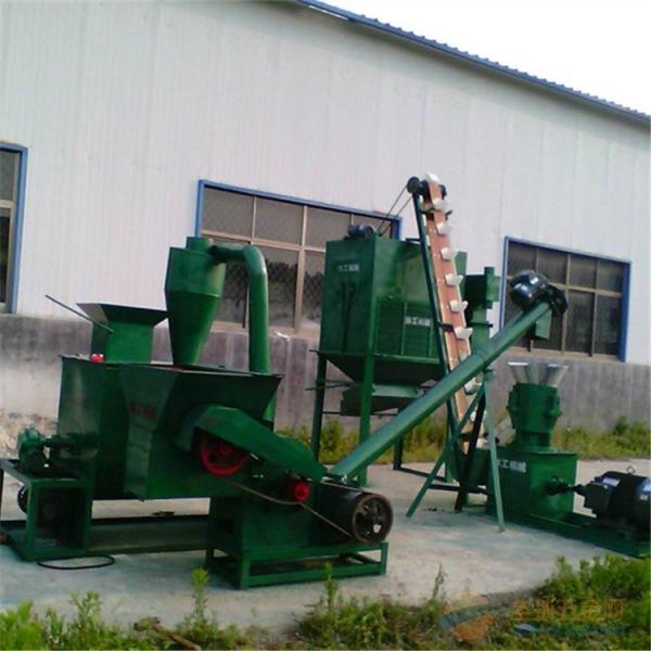 林工机械新龙县家禽饲料颗粒机 成套机械 颗粒饲料机 草粉颗粒饲料机